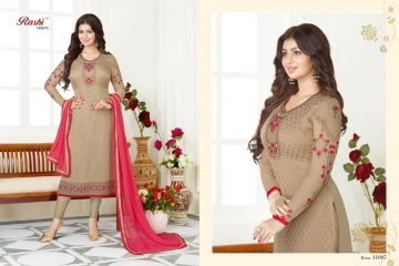 Crystal Brasso Vol-11 by Rashi Prints 11007