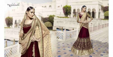 Grandeur-By-Nakkashi-Indian-Royal-Traditional-Heavy-Embroidered-Party-wear-Occasional-Wear-Wedding-Wear-Georgette-Sarees-5046
