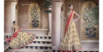Grandeur-By-Nakkashi-Indian-Royal-Traditional-Heavy-Embroidered-Party-wear-Occasional-Wear-Wedding-Wear-Georgette-Sarees-5047