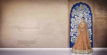 Grandeur-By-Nakkashi-Indian-Royal-Traditional-Heavy-Embroidered-Party-wear-Occasional-Wear-Wedding-Wear-Georgette-Sarees-5049