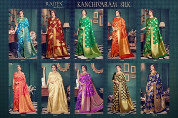 Kanchivaram-Silk-Raj-Tex-Wholesaleprice-catalog