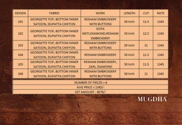 Mugdha-101-to-106-Series-Wholesaleprice-Price&Details