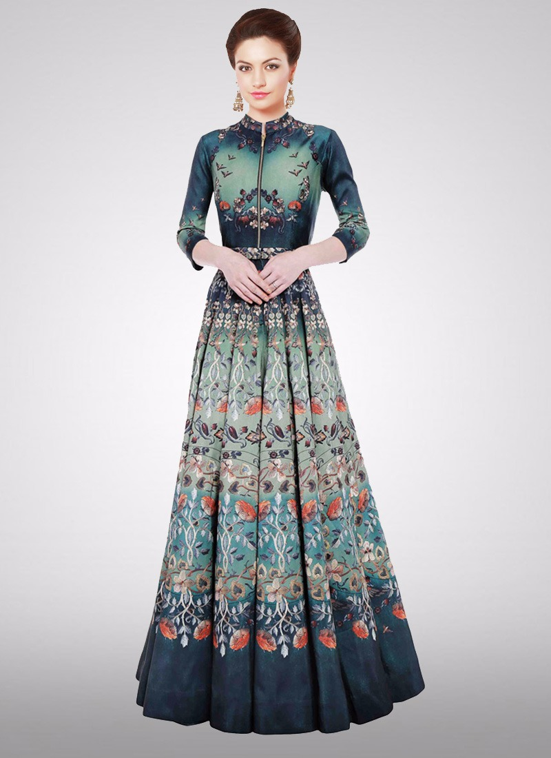 Printed Gown Vol-1 By Fashid Wholesale 01 To 08 Series ...