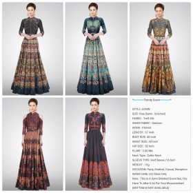 Printed-Gown-1-Fashid-Wholesale-Wholesaleprice-Details