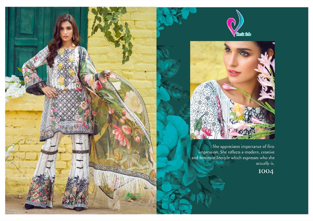 Saira Lawn 1001 To 1008 Series By Viksit Fab Beautiful Colourful ...