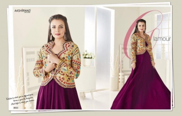 Dia Mirza Vol-8 by Aashirwad Creation 8003