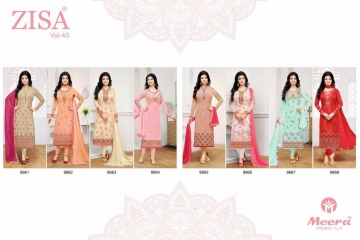 Zisa Vol-40 by Meera Trendz Full Catalog