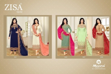 Zisa Vol-42 by Meera Trendz Catalog