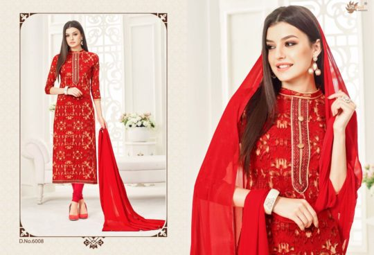 44b666d998 Zaheen Vol-6 by Aadesh Dresses 6001 To 6012 Series Indian Ethnic Beautiful  Stylish Colourful Floral Printed Casual Wear Cambric Cotton Dresses At  Wholesale ...