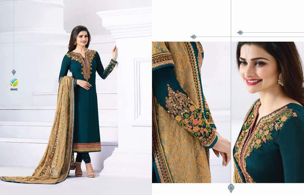 9af6a7a2bf PRACHI QUEEN BY VINAY FASHIONS 5641 TO 5647 SERIES BEAUTIFUL ...