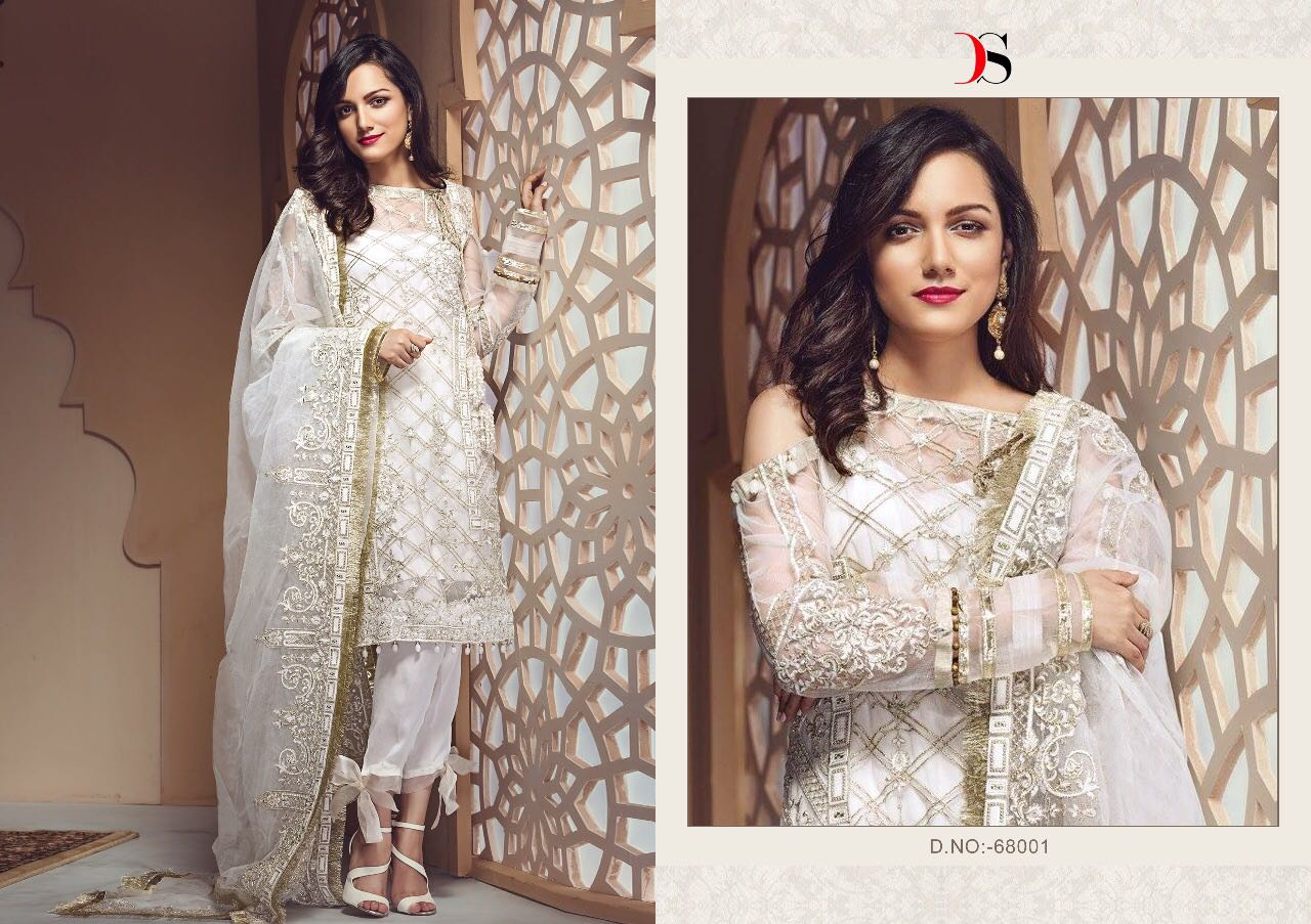 73b251bc1c ZAREEN BY DEEPSY SUITS 68001 TO 68006 SERIES COLORFUL BEAUTIFUL ...
