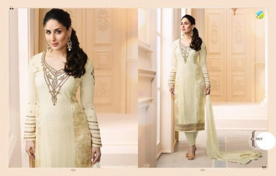 efa6ccc4cc KAREENA BY VINAY FASHIONS 5911 TO 5917 SERIES DESIGNER BEAUTIFUL STYLISH  COLORFUL PARTY WEAR & OCCASIONAL WEAR FANCY GEORGETTE BRASSO EMBROIDERED &  PRINTED ...