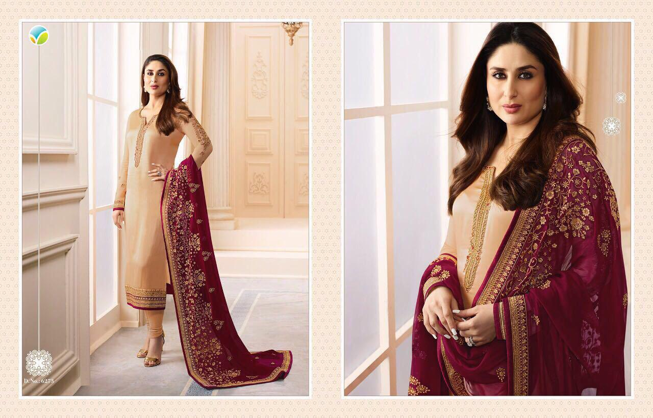 82b14c94f6 KAREENA VOL-3 BY VINAY FASHION 6271 TO 6277 SERIES DESIGNER ...