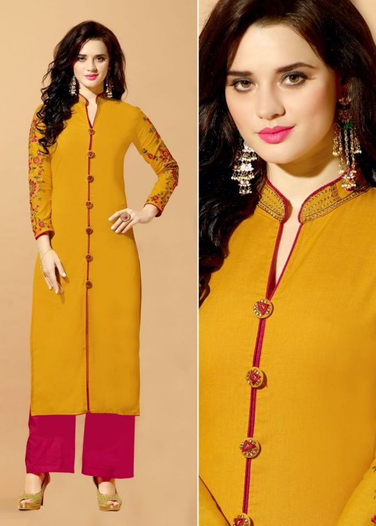 2b2c211e07 CITY LIGHT BY RANI TRENDZ 649 TO 656 SERIES STYLISH BEAUTIFUL COLORFUL  FANCY CASUAL WEAR & ETHNIC WEAR HEAVY RAYON EMBROIDERED KURTIS AT WHOLESALE  PRICE