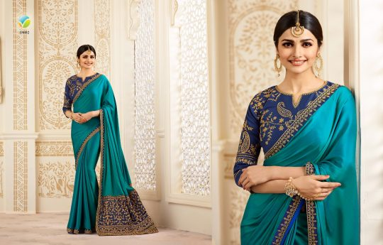 9eac0af7d6 STARWALK-SPARKLE NX BY VINAY FASHION INDIAN DESIGNER BEAUTIFUL COLORFUL  FESTIVE COLLECTION OCCASIONAL WEAR & PARTY WEAR SILK SAREES AT WHOLESALE  PRICE