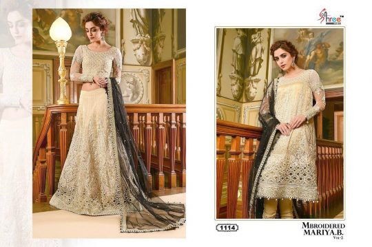 c5eed96c64 B VOL-2 NX BY SHREE FABS PAKISTANI SUITS DESIGNER BEAUTIFUL FANCY COLORFUL PARTY  WEAR & OCCASIONAL WEAR FAUX GEORGETTE EMBROIDERED DRESSES AT WHOLESALE ...