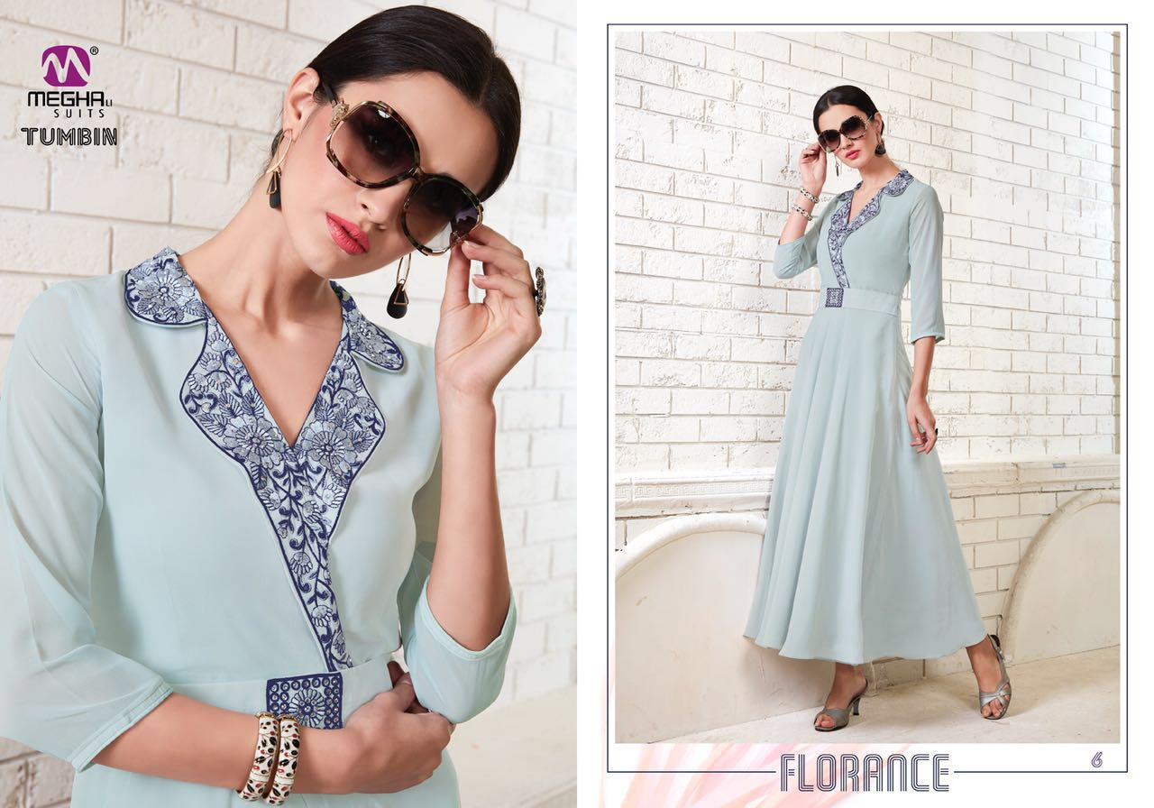 Fashid Wholesale » TUMBIN BY MEGHALI SUITS 1 TO 8 SERIES