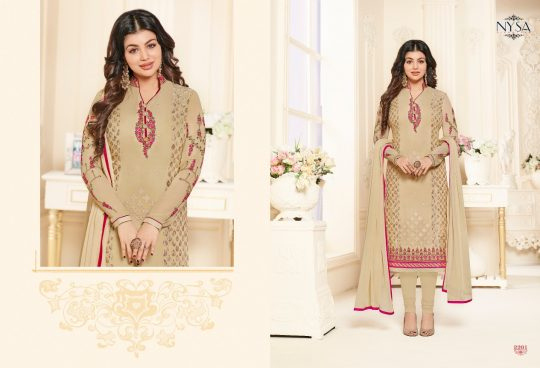26122ed6b5 ... NYSA LIFESTYLE 2201 TO 2207 SERIES BEAUTIFUL SUITS COLORFUL STYLISH  FANCY PARTY WEAR & ETHNIC WEAR BRASSO & GEORGETTE PRINTED DRESSES AT  WHOLESALE PRICE