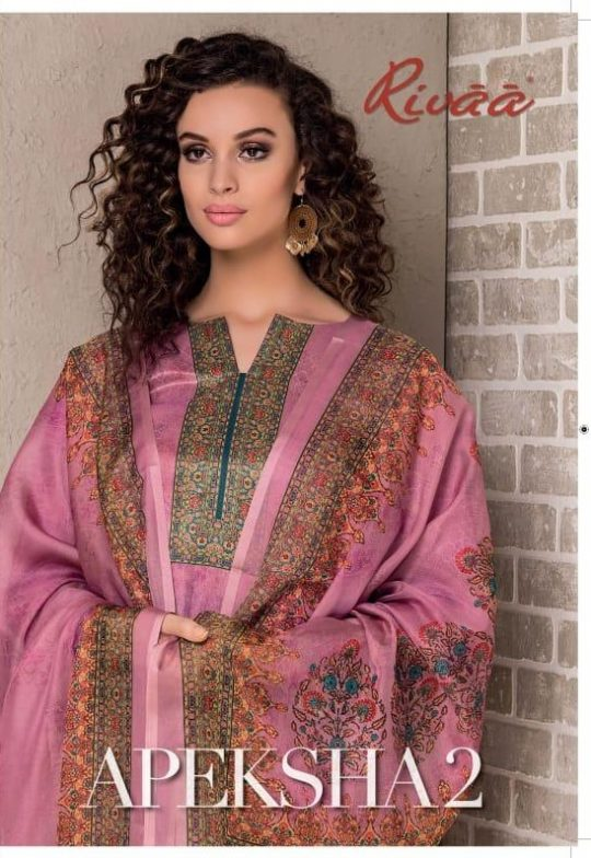 b07602d0cd APEKSHA VOL-2 BY RIVAA 879 TO 886 SERIES BEAUTIFUL SUITS COLLECTION  COLORFUL STYLISH FANCY CASUAL WEAR & ETHNIC WEAR KATKI SILK EMBROIDERED  DRESSES AT ...