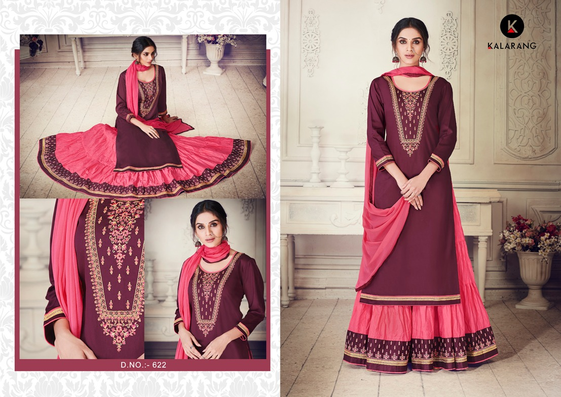 a690a19c50 BLOSSOM VOL-4 BY KALARANG 621 TO 624 SERIES DESIGNER SUITS BEAUTIFUL ...
