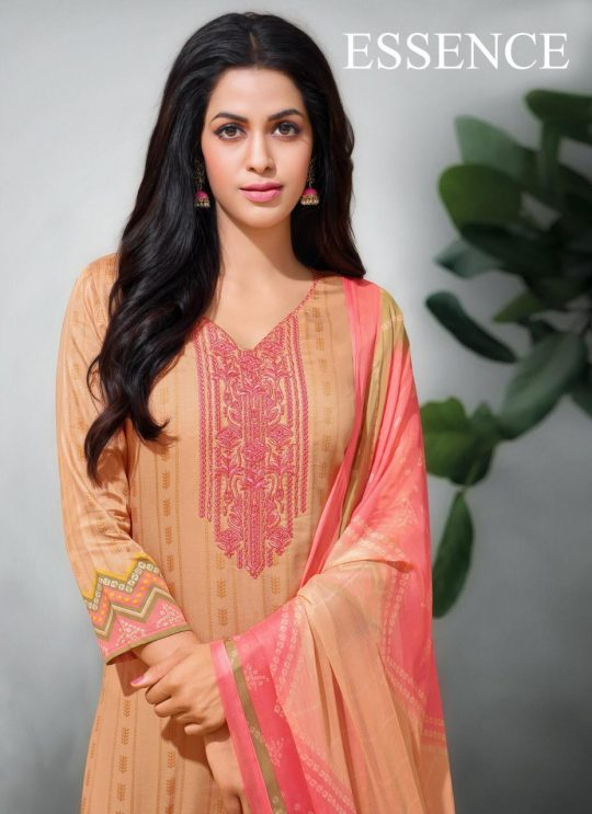 8ca47e378f ESSENCE BY ANGROOP PLUS 036 TO 044 SERIES BEAUTIFUL SUITS STYLISH FANCY  COLORFUL PARTY WEAR & ETHNIC WEAR PURE JAM SILK PRINT WITH EMBROIDERED  DRESSES AT ...