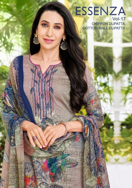 891ffe4112 ESSENZA VOL-17 BY MAHAVEER FASHION 66006 TO 66014 SERIES BEAUTIFUL SUITS  COLLECTION STYLISH FANCY COLORFUL CASUAL WEAR & ETHNIC WEAR PURE JAM SATIN  ...