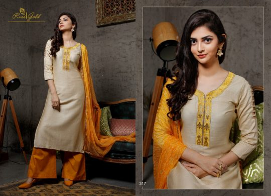 935837ac07 FESTIVE CRUSH BY RVEE GOLD 314 tO 321 SERIES BEAUTIFUL SUITS COLORFUL  STYLISH FANCY CASUAL WEAR & ETHNIC WEAR JAM SATIN WITH WORK DRESSES AT  WHOLESALE PRICE