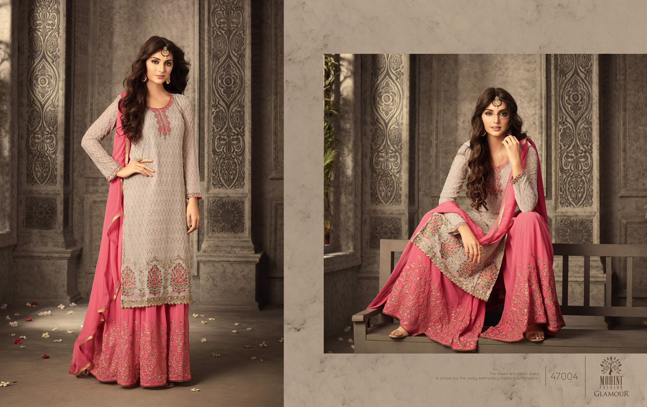 d3d3b1322f GLAMOUR VOL-47 BY MOHINI FASHION 47001 TO 47006 SERIES DESIGNER ...
