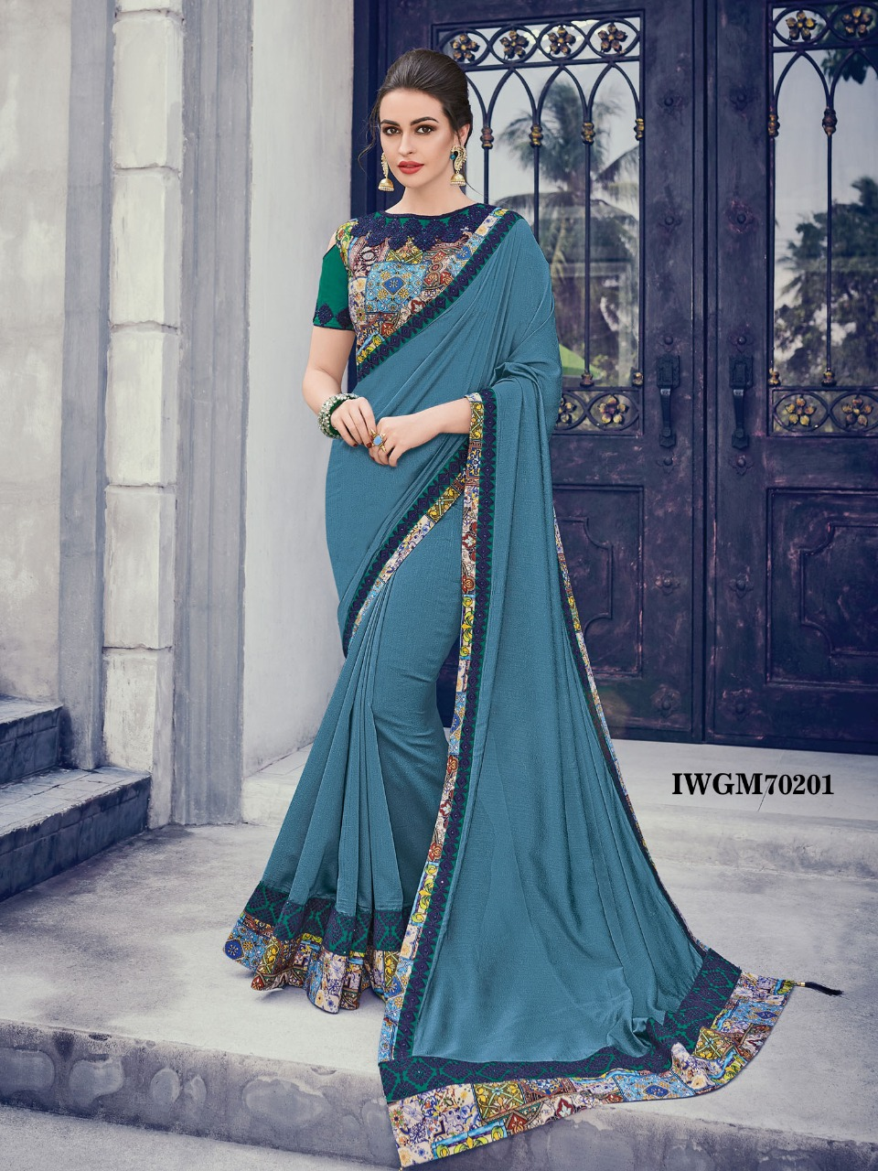 4b9726d4b9 GULMOHAR BY FASHID WHOLESALE 70200 TO 70209 SERIES INDIAN TRADITIONAL WEAR  COLLECTION BEAUTIFUL STYLISH FANCY COLORFUL PARTY WEAR & OCCASIONAL WEAR  TWO TONE ...