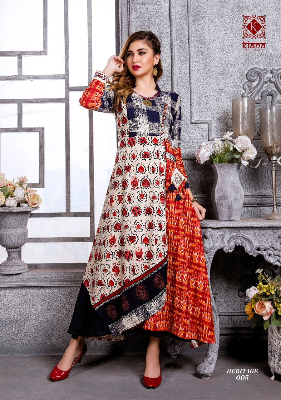 1b423fb839 HERITAGE BY KIANA 001 TO 010 SERIES BEAUTIFUL COLORFUL STYLISH FANCY ...