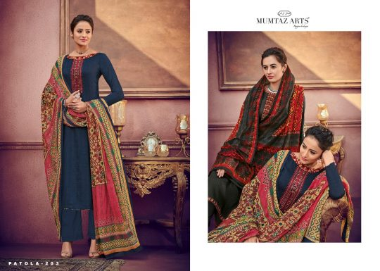 7deae71f87 IKAT PATOLA BY MUMTAZ ARTS 201 TO 207 SERIES INDIAN TRADITIONAL WEAR  COLLECTION BEAUTIFUL STYLISH FANCY COLORFUL PARTY WEAR & OCCASIONAL WEAR  PURE JAM SATIN ...