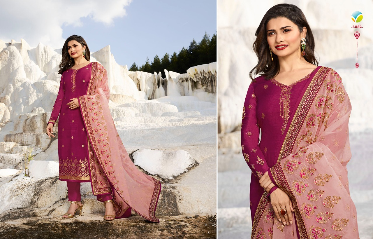 08ca8e79d6 KASEESH AMBITION BY VINAY FASHION 8881 TO 8888 SERIES BEAUTIFUL ...