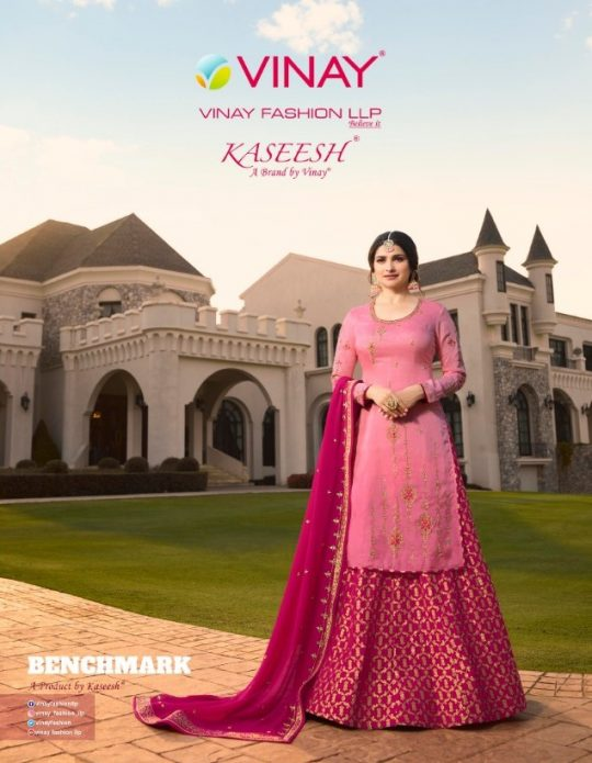6b8892b940 KASEESH BENCHMARK BY VINAY FASHION 10591 TO 10596 SERIES BEAUTIFUL SUITS  STYLISH FANCY COLORFUL PARTY WEAR & ETHNIC WEAR SATIN GEORGETTE EMBROIDERED  DRESSES ...