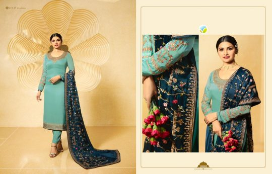 0a26dc3f2b KASEESH DUA BY VINAY FASHION 10501 TO 10506 SERIES BEAUTIFUL SUITS STYLISH  FANCY COLORFUL PARTY WEAR & ETHNIC WEAR SATIN GEORGETTE EMBROIDERED DRESSES  AT ...