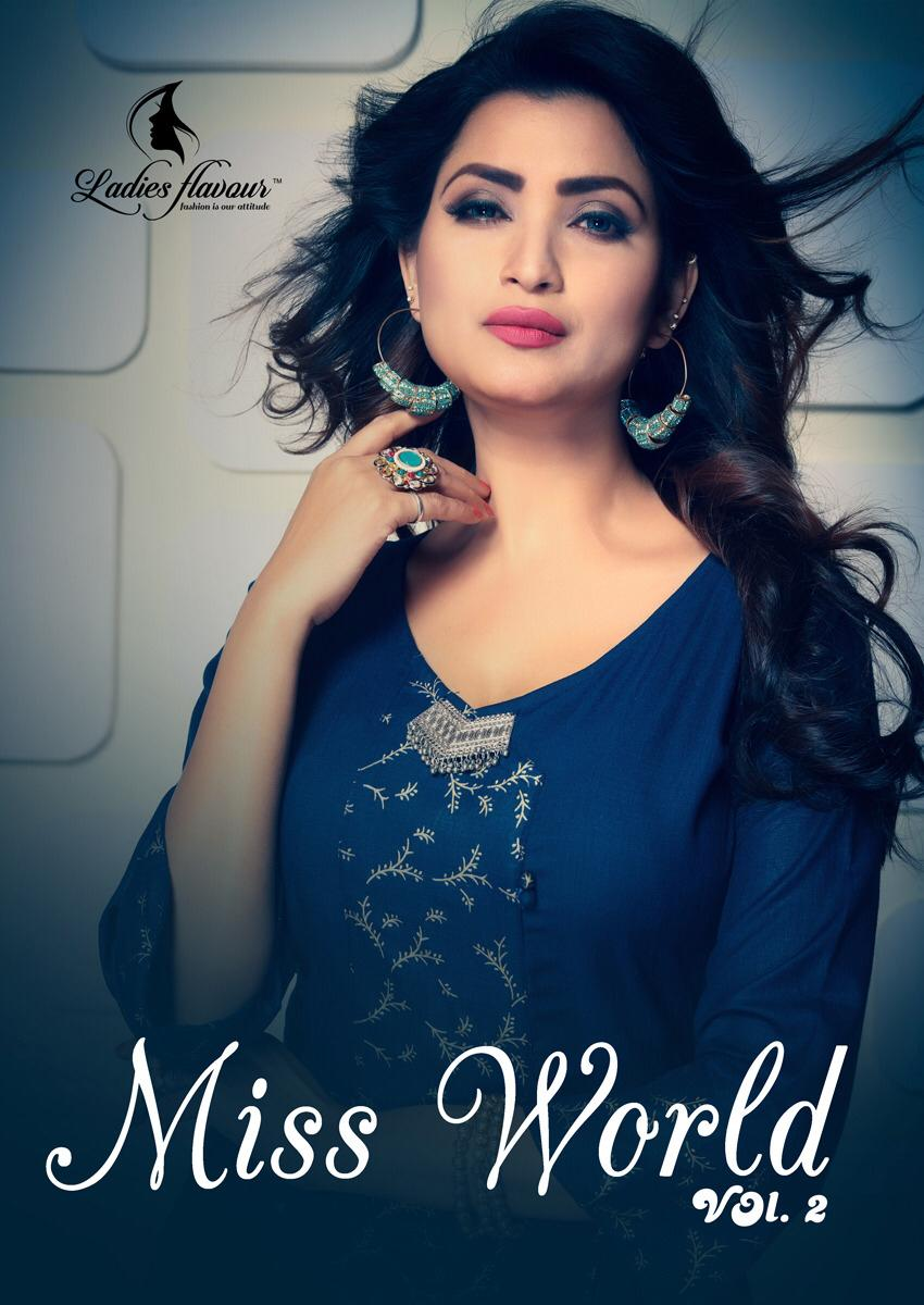 48d87406a4 MISS WORLD VOL-2 BY LADIES FLAVOUR 2701 TO 2707 SERIES INDIAN ...