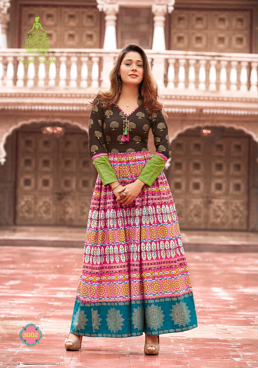 f3d45ea037 THE MUMTAZ VOL-3 BY KAJAL STYLE 3001 TO 3008 SERIES DESIGNER ...
