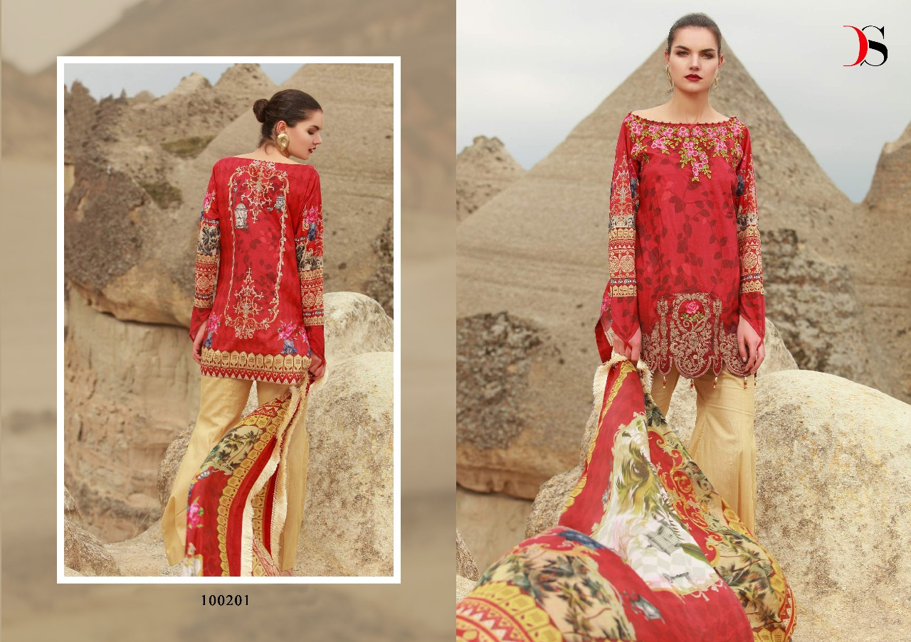 6b6d93c0ce MUSLIN VOL-2 BY DEEPSY SUITS 100201 TO 100206 SERIES BEAUTIFUL PAKISTANI  SUITS COLORFUL STYLISH FANCY CASUAL WEAR & ETHNIC WEAR PURE COTTON  EMBROIDERED ...