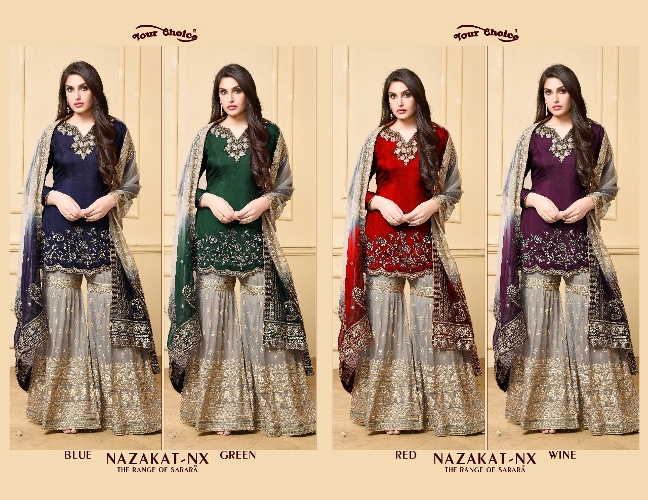 447ae1eac7 NAZAKAT NX BY YOUR CHOICE DESIGNER SUITS COLLECTION BEAUTIFUL ...