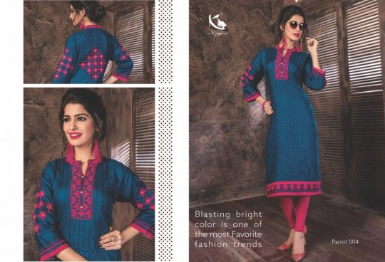 bdcd7eed9b PARROT BY KAYNA 001 TO 010 SERIES BEAUTIFUL STYLISH FANCY COLORFUL CASUAL  WEAR & ETHNIC WEAR RAYON PRINTED KURTIS AT WHOLESALE PRICE