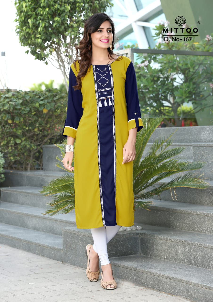 cb193f34a0 ... COLLECTION RAYON EMBROIDERED KURTIS AT WHOLESALE PRICE. Download Image  Zip