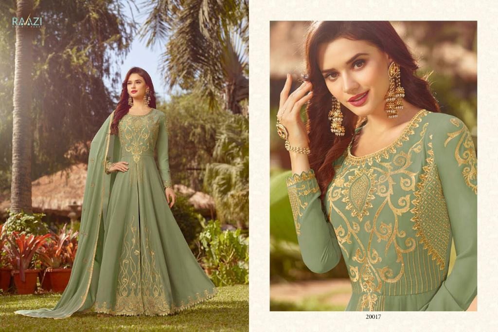 4b060aa92e RAAZI VOL-7 BY RAMA FASHION 20017 TO 20024 SERIES DESIGNER BRIDAL WEAR  ANARKALI SUITS COLLECTION BEAUTIFUL STYLISH FANCY COLORFUL PARTY WEAR &  OCCASIONAL ...