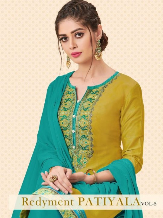 ffdacd21df REDIMENT PATIYALA VOL-2 BY RAVI CREATION 1013 TO 1020 SERIES BEAUTIFUL  PATIYALA SUITS COLORFUL STYLISH FANCY CASUAL WEAR & ETHNIC WEAR SATIN  EMBROIDERED ...