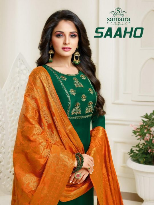 88dbbc64ac SAAHO BY SAMAIRA FASHION 25002 TO 25007 BEAUTIFUL COLLECTION SUITS STYLISH  FANCY COLORFUL CASUAL WEAR & ETHNIC WEAR UPADA SILK WITH EMBROIDERY WORK  DRESSES ...