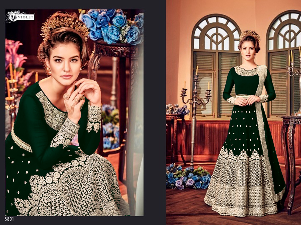 Fashid Wholesale » SNOW WHITE 5801 COLOURS BY SWAGAT