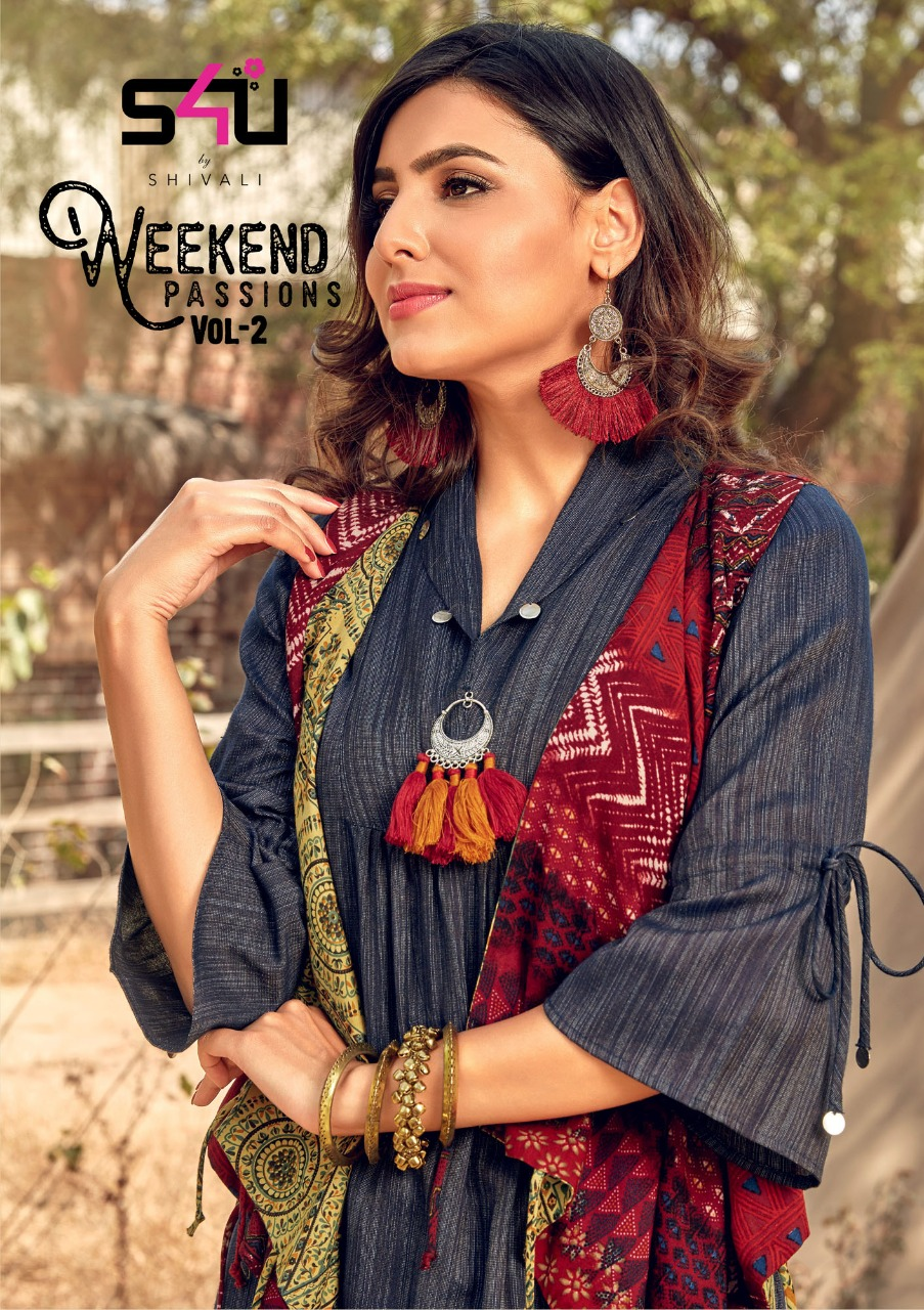 0c924c0bfc WEEKEND PASSIONS VOL-2 BY S4U FASHION 201 TO 210 SERIES DESIGNER ...