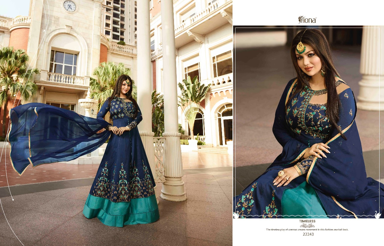 Fashid Wholesale » ZARA VOL-9 BY FIONA 22241 TO 22245 SERIES